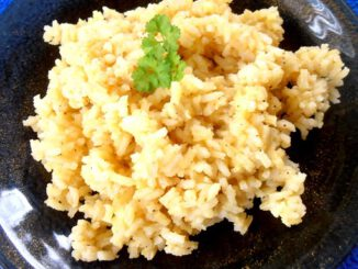 Gewürzter Reis