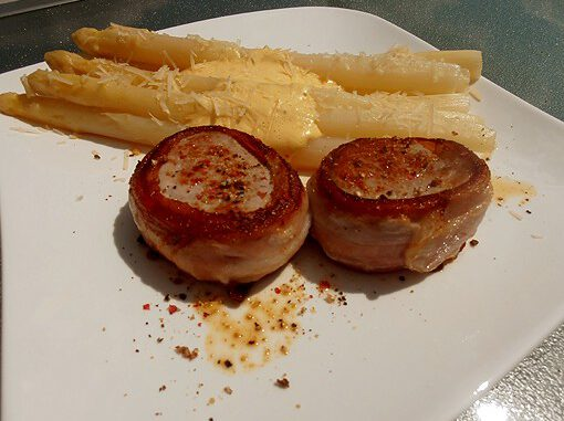 Filet Speckmantel Spargel