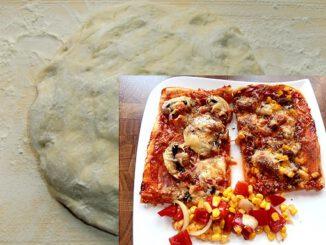 Grundteig für Pizza
