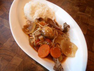 Rindfleisch Asiatisch