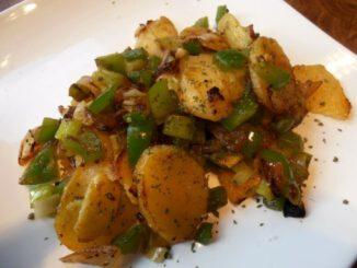 Paprikabratkartoffeln